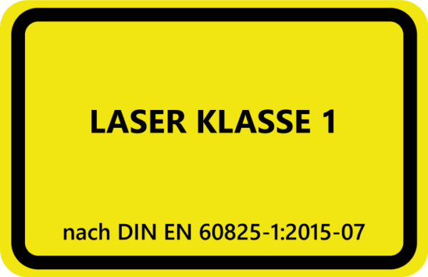 , Definizione delle classi laser