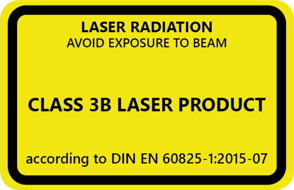 , Definition of laser classes