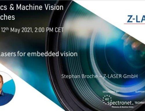 Laser für Embedded Vision