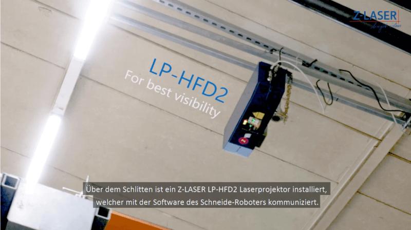 , Z-LASER LP-HFD2 in operation at Hofmann GmbH