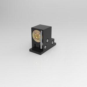 H6-M12 Halterung für Laser mit M12 Gewinde