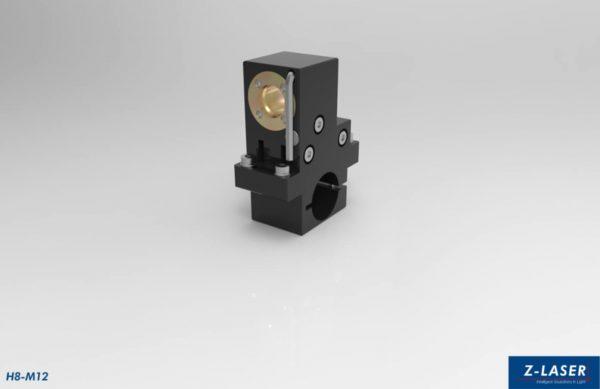 H8-M12 Laserhalterung für Laser mit M12-Gewinde