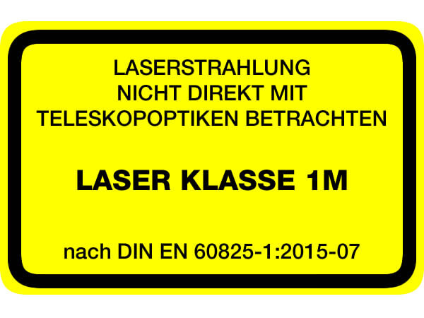 , Definition der Laserklassen