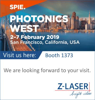 Z-Laser auf der Photonics San Francisco