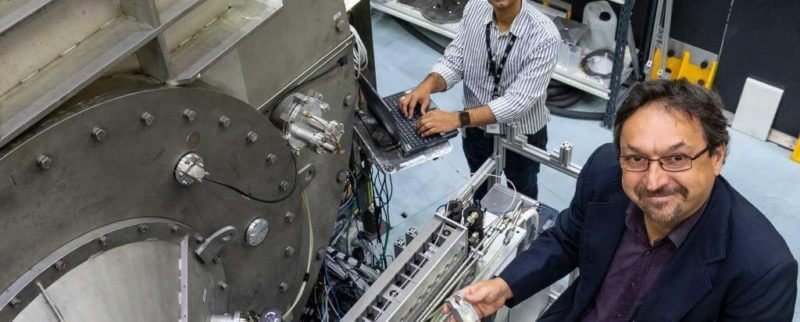 , Z-Laser Precision Alignment Cross lasers is being utilised in experiments with Neutron Beam Instruments