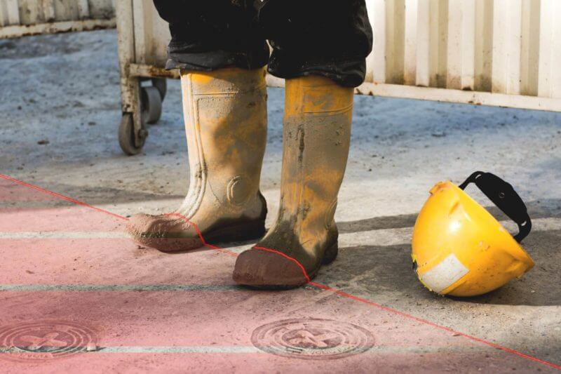 , Fewer accidents at work thanks to laser lines