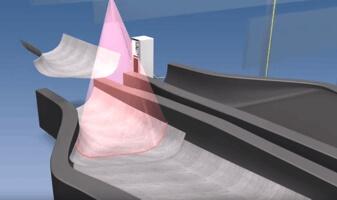 , Proiettori laser per l'industria dei compositi