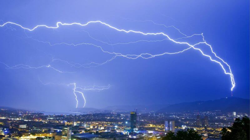 , Prevent lightning strikes with Superlaser