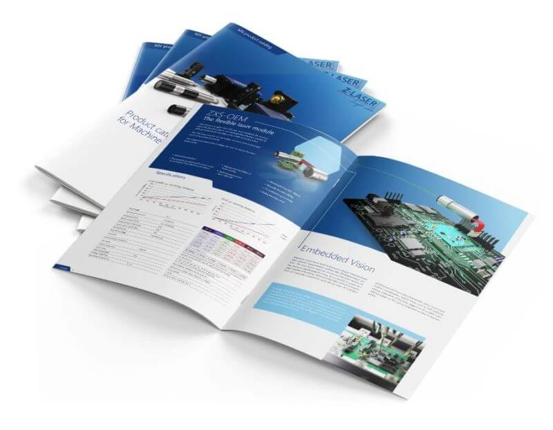 ", The new Z-LASER catalogue ""Machine Vision"" has arrived"