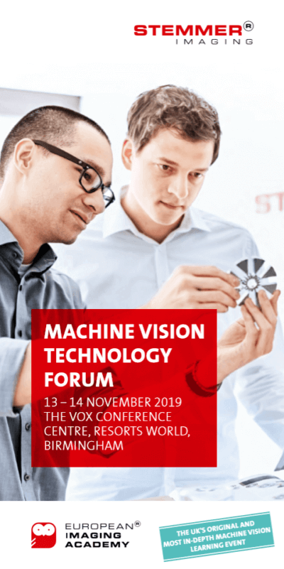 , The UK's most in-depth machine vision learning event