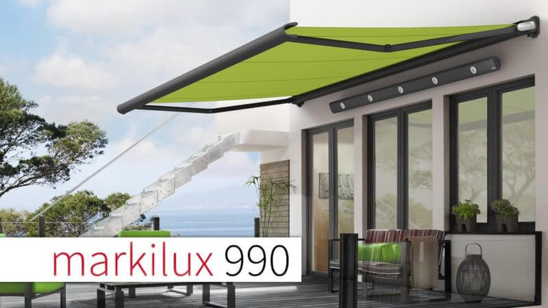 , Z-LASER Laser Projector LP-HFD helps Markilux to produce perfect sun protection systems