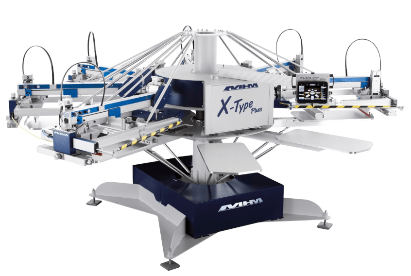 , Positioning lasers in textile printing