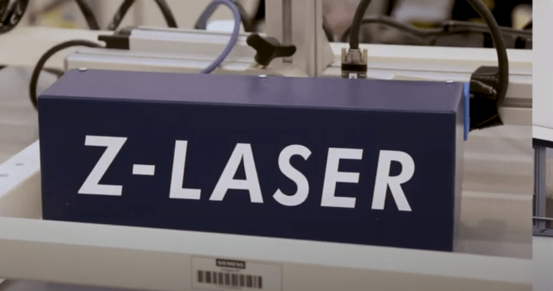 , Digitalized device assembly and final inspection with the ZLP1 laser projector from Z-LASER