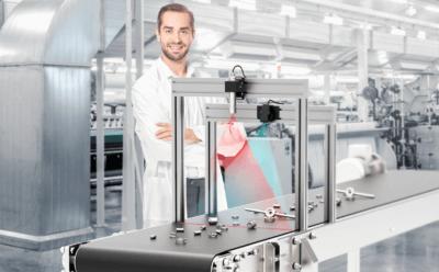 Kürzere Produktionsabläufe dank Lasertriangulation mit Z-LASER ZX10-TTL