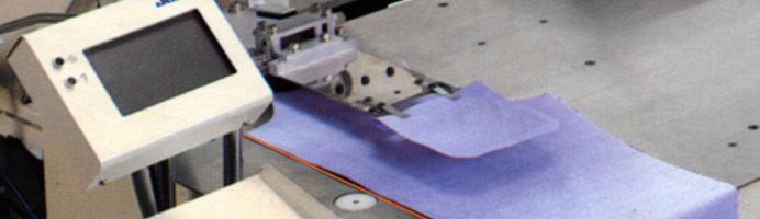 , Automatic Pocket Welting Machine with Laser support
