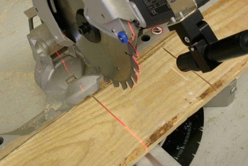 , Line Lasers fore more accuracy while sawing