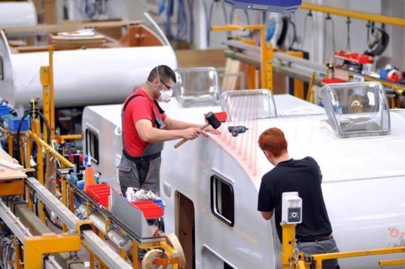 , Lasers in Caravan Construction
