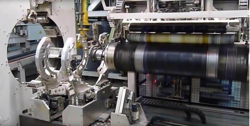 , Laser in Tire Building Machine