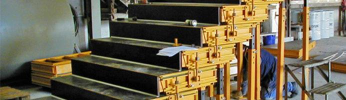 , Laser-assisted Setting of Formwork for Concrete Staircases