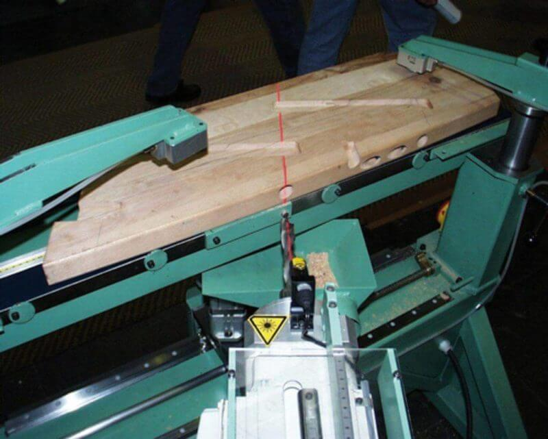 , Drilling Machines – supported by Line Lasers