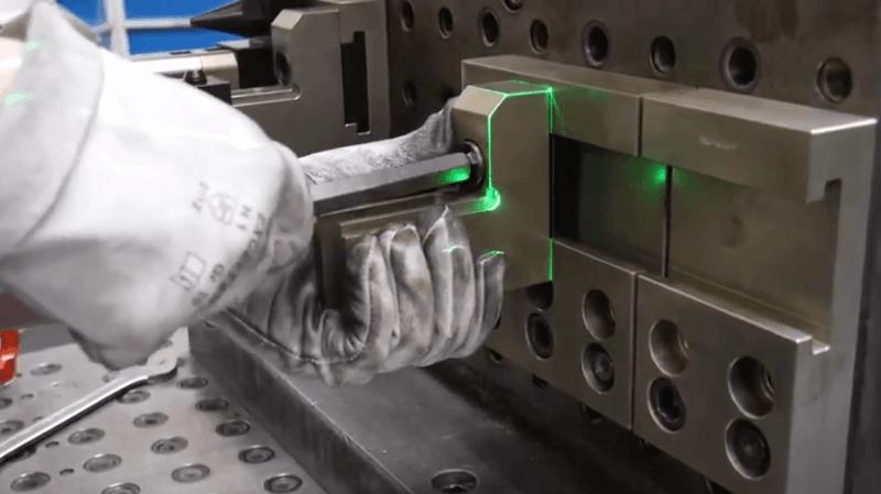 , Lasergestützter Rüstprozess