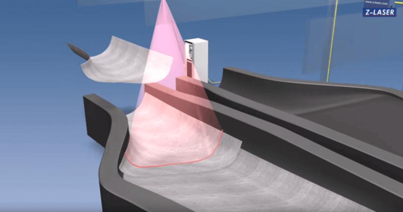 , Schnellere Produktion von Rotorblättern für Windkraft- anlagen dank Laserprojektoren