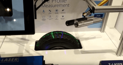 Z Laser at Tire Expo