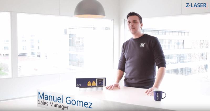 , Produktvideo: Der neue Laserprojektor ZLP1, vorgestellt von Manuel Gomez (Sales Manager)